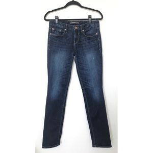 Express Jeans Ankle Skinny Stella Low Rise